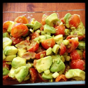 Avocado and Cherry Tomato Salad